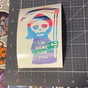 8/$15 Grim Reaper Vinyl Decal